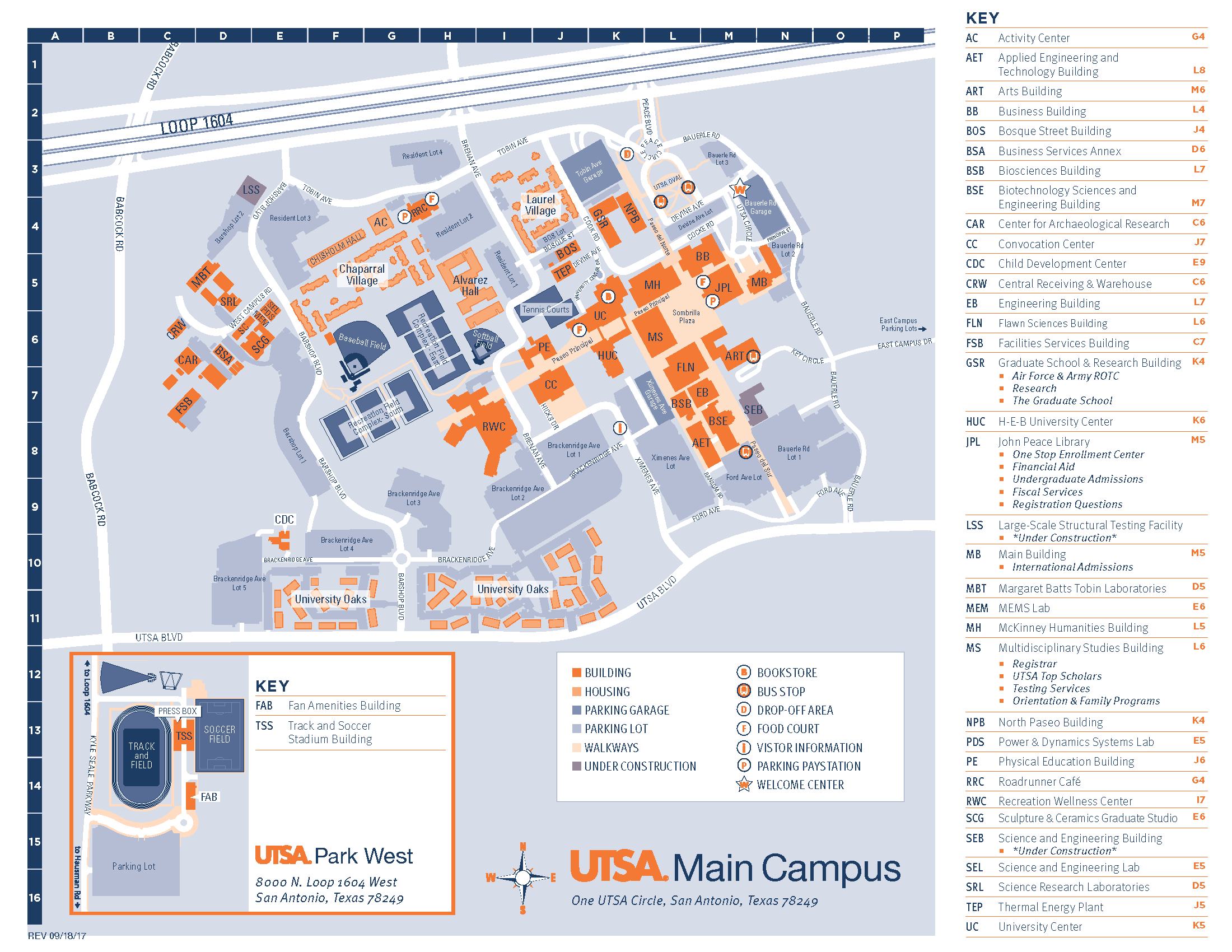 Utsa Downtown Campus Map Location & Map   UTSA Graduate School