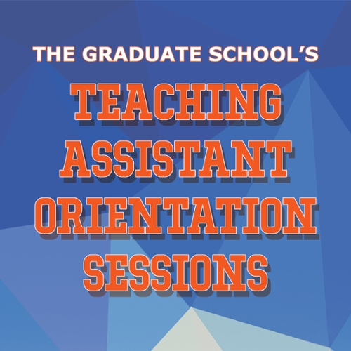 Teaching Assistant Orientation Sessions